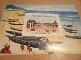Miniature Sheet 1984 Togolaise Togo German Main Street 1895 - Togo (1960-...)