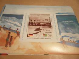 Miniature Sheet 1984 Togolaise Togo German Friendship Place Of Protectorate Treaty Signature - Togo (1960-...)