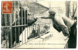 75005 PARIS - Jardin Des Plantes - L'Ours Martin Reçoit Sa Récompense - District 05