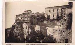 CUENCA. CASAS COLGANTES Y PALACIO DEL OBISPADO. ED ARRIBAS. CPA VOYAGEE 1948 - BLEUP - Cuenca