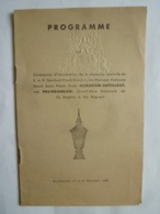 INDOCHINE -PHNOM-PENH- PROGRAMME  Cérémonies D'Incinération S.A.R NORODOM-SUTTHAROT Née PHANGAGAM - Programmes