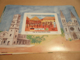 Miniature Sheet 1984 Togolaise Togo German Friendship Student Of The Official Dadjido School - Togo (1960-...)