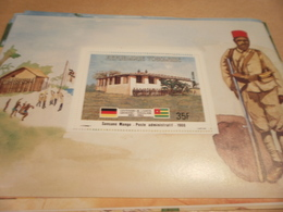 Miniature Sheet 1984 Togolaise Togo German Friendship Post Administration 1908 - Togo (1960-...)