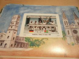 Miniature Sheet 1984 Togolaise Togo German Friendship Students In Class Degbenou 1893 - Togo (1960-...)