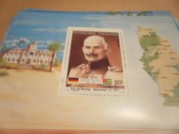 Miniature Sheet 1984 Togolaise Togo German Friendship Governor Doering 1914 - Togo (1960-...)
