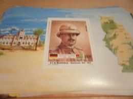 Miniature Sheet 1984 Togolaise Togo German Friendship Governor Mecklenburg 1912-1914 - Togo (1960-...)