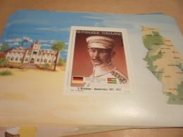 Miniature Sheet 1984 Togolaise Togo German Friendship Governor Bruckner 1911-1912 - Togo (1960-...)