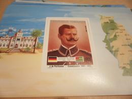Miniature Sheet 1984 Togolaise Togo German Friendship Commissioner 1891-1893 - Togo (1960-...)