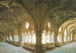 11 Abbaye De Fontfroide Angle Des Galeries Est Et Sud Du Cloître (2 Scans) - Narbonne