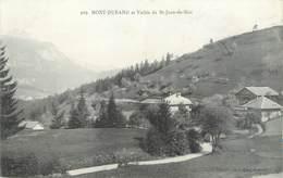 """CPA FRANCE 74 """" St Jean De Sixt , Le Mont Durand"""" - France"""