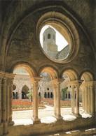 11 Abbaye De Fontfroide Le Cloître Et Le Clocher (2 Scans) - Narbonne