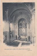 VALENCIA. COLEGIO DE S JOSE. PP. JESUITAS. CAPILLA. ANTONIO GARCIA FOTO. CPA CIRCA 1910s - BLEUP - Valencia