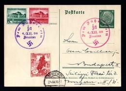 14397-GERMAN EMPIRE-.MILITARY PROPAGANDA POSTCARD.Znaim.1938.WWII.DEUTSCHES REICH.Postkarte.Carte Postale - Lettres & Documents