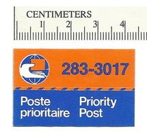 B54-88 CANADA Priority Post Etiquette MNH - Local, Strike, Seals & Cinderellas