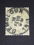 COB N ° 47 Oblitération Gembloux 1893 - 1884-1891 Léopold II