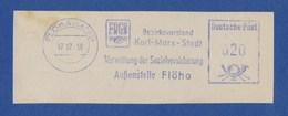 DDR AFS - FLÖHA, FDGB Bezirksvorstand Karl Marx Stadt - Verwaltung Der Sozialversicherung - 17.12.58 - Unclassified