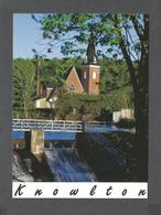 KNOWLTON - QUÉBEC - ÉGLISE DE KNOWLTON EN ESTRIE - 16 X 12cm - 6½ X 4¾ Po - PHOTO PAR LAURENT - Quebec