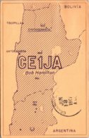QSL Chile CE1JA Bob Hamilton 1967 - Radio Amateur