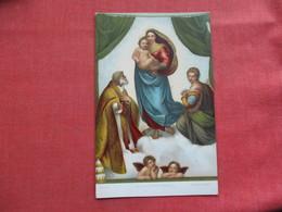 Christianity > Virgen Mary & Madonnas  Stengel Co.   Ref 3384 - Virgen Mary & Madonnas