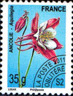 France Préo Obl Yv:260 Mi:5154 Ancolie-Aquilegia (s.gomme) - Préoblitérés