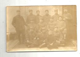 Cp, Carte Photo ,  Militaria ,militaires,  2 Scans,  écrite 1915 - Personen