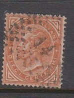 Italy S 17 1866 King Victor Emmanuel II,10c  Buff,used - 1861-78 Vittorio Emanuele II