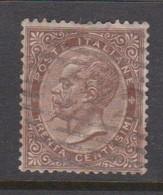 Italy S 19 1866 King Victor Emmanuel II,30c Brown,used - Used