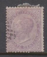 Italy S 21 1863 King Victor Emmanuel II,60c Lilac,used - 1861-78 Vittorio Emanuele II