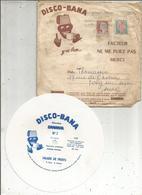 Disque DISCO-BANA,  BANANIA , 1962 ,   LOT DE 8 DISQUES( N° 2/3/5/7/11/15/16/19 )  + ENVELOPPE, Frais Fr 3.15 E - Special Formats