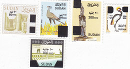 Sudan New Issue 2019,Revalued 5 Stamps HIGH VALUES,Scarce-MNH Cpl.many Topicals- SKRILL PAY ONLY - Sudan (1954-...)