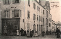 ! 88, CPA Charmes, Vosges, Maison Ch. Remy, Epicerie, Tabac - Charmes