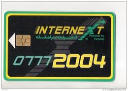 TÉLÉCARTE ÉGYPTE . MENATEL 15 L.E. . CARTE LIAISON INTERNET 07772004 - Réf. N°111C - - Egypt