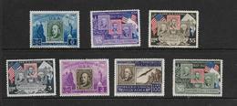 SAINT-MARIN 1947 CENTENNAIRE DU TIMBRE AMERICAIN  YVERT N°308/13-A66  NEUF MH* - Saint-Marin