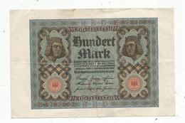 Billet , Allemagne ,  Reichsbanknote , 10000mark, Berlin 1 November 1920, 2 Scans, Frais Fr 1.55 E - 100 Mark