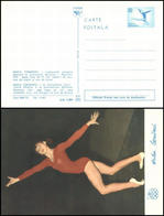 Romania - 1976 - Olympic Games 1976 - Stationery Postcard - Nadia Comaneci - Summer 1976: Montreal