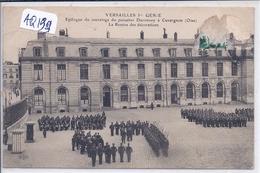 VERSAILLES- 1 ER GENIE- EPILOGUE DU SAUVETAGE DU PUISATIER DURONSOY A CUVERGNON- REMISE DES DECORATIONS - Versailles
