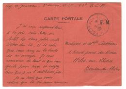 17871 - Origine  23e BATAILLON CHASSEURS ALPINS - Storia Postale