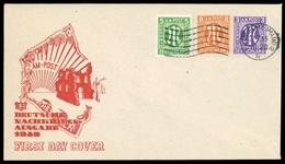 1945, Bizone, 1+3+5, Brief - Bizone