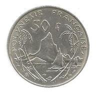 Monnaie , POLYNESIE FRANCAISE , 1967,  50 Francs - French Polynesia