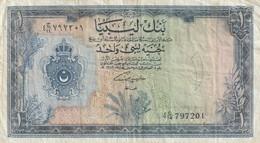 1 POUND 1963 - Libië