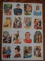 Planche éducative Volumétrix - N°70 - Histoire De France (de Charles V à Louis XII) - Fiches Didactiques