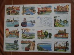 Planche éducative Volumétrix - N°75 - Géographie (la Seine Et Ses Affluents) - Bücher, Zeitschriften, Comics