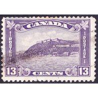 CANADA 1932 13 Cent Bright Violet The Old Citadel Quebec SG325 Fine Used - 1911-1935 Reign Of George V
