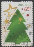 AUSTRALIA - DIE-CUT-USED 2017 65c Christmas - Tree - 2010-... Elizabeth II