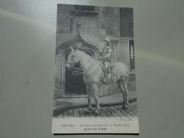 NIEVRE NEVERS CORTEGE HISTORIQUE DU 31 OCTOBRE 1909 JEANNE D'ARC - Nevers