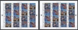 TT555 GIBRALTAR ANIMALS & FAUNA WWF BATS #1832-5 !!! MICHEL 96 EURO !!! 10% OFF !!! 2SH MNH - W.W.F.