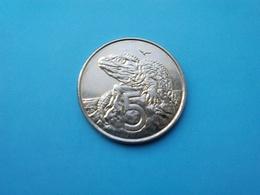 NOUVELLE ZÉLANDE   5  Cents  2003   -- SPL --   New Zealand  --   Saurien - Nouvelle-Zélande