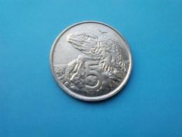 NOUVELLE ZÉLANDE   5  Cents  1999   -- SPL --   New Zealand  --   Saurien - Nouvelle-Zélande