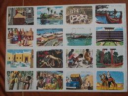 Planche éducative Volumétrix - N°91 - Afrique III - Learning Cards