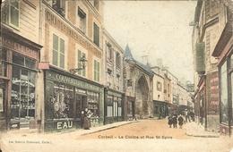91 - CORBEIL - Le Cloitre Et La Rue St Spire 67 - Corbeil Essonnes
